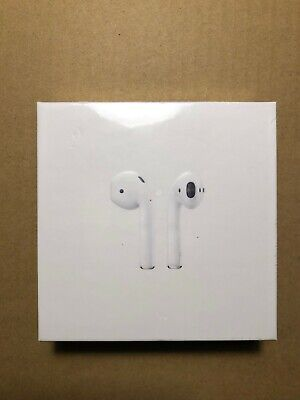 New Sealed Authentic Apple AirPods Generation 2 with Wireless Charging Case