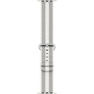 Apple MQVH2AMA 38mm40mm Woven Nylon Smartwatch Replacement Band for Watch