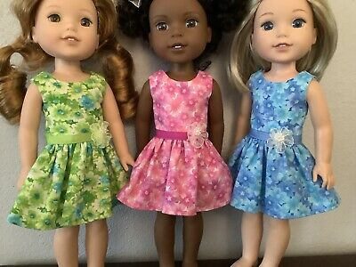 3 Dresses for Wellie Wisher  14Doll-J1
