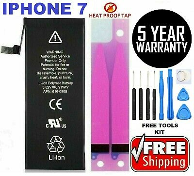 iPhone 7 Battery For iPhone 7 1960mAh internal Replacement oem -Tools - Tape