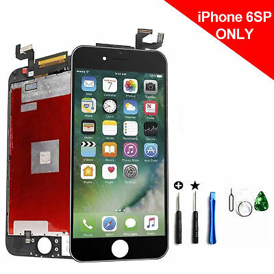 For iPhone 6S Plus Black Display Touch Screen Digitizer LCD Replacement Assembly