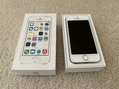 Apple iPhone 5s - 16GB - Silver Verizon A1533 CDMA - GSM Unlocked Mint W Box