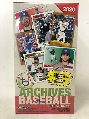 2020 Topps Archives Baseball 7ct Blaster Box
