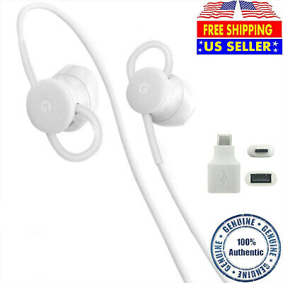 GENUINE Google USB-C Earbuds USB-C to AUX 3-5mm Adapter for GooglePixel 2345