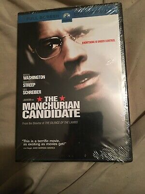 The Manchurian Candidate DVD 2004 Full Screen Version