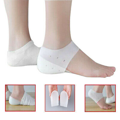 Invisible Height Lift Insoles Heel Sock Liners Increase Insole Pain Relief