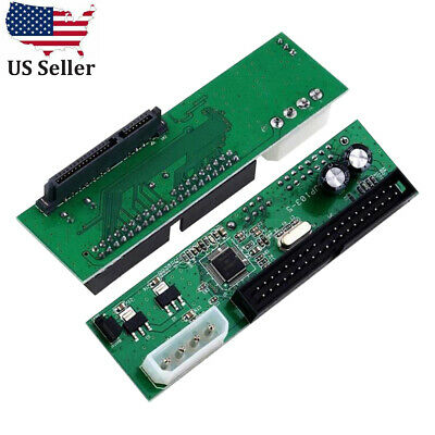 SATA to PATAIDE Hard Drive Adapter Converter 3-5 HDD Parallel to Serial ATA