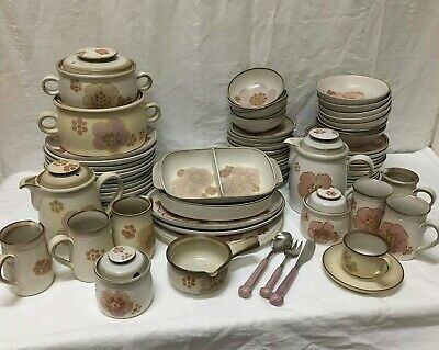 Denby Pottery Gypsy Stoneware China Various Different Pieces