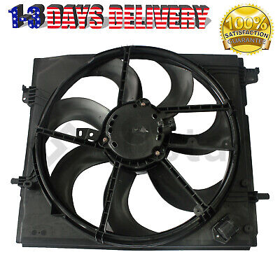 Radiator Cooling Fan Assembly For 2017-2019 Nissan Rogue Sport 2-0L 214816MA0A