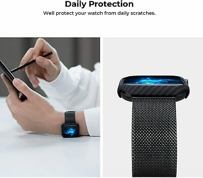 iWatch Apple Watch Series 6 SE 5 4 3  Tpu Carbon Fiber Cover Case 38404244mm