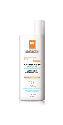 La Roche Posay Anthelios 50 Mineral Tinted Ultra Light Sunscreen 1-7 oz 2022-