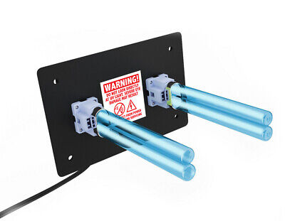 R2000 Whole House UV Light DUAL Lamp for HVAC AC Duct coil cleaner