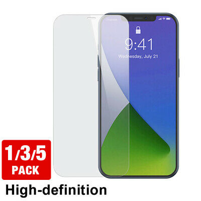 For iPhone 11 Pro Max 12 Pro XS Max Full Cover Tempered Glass Screen Protector