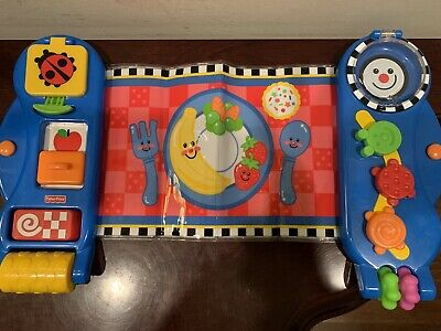 Fisher Price Miracles and Milestones Playmat Placemat EXC
