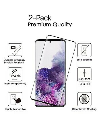 2-Pack Tempered Glass Screen Protector For Samsung Galaxy Note 20Note 20 Ultra