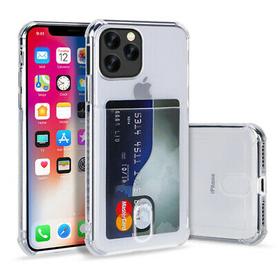 For iPhone 12 Pro Max 12 Wallet Case Durable Cover with Credit Card Holder Slot