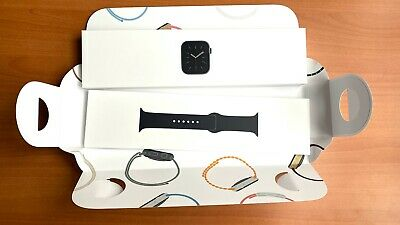 Apple Watch Series 6 44MM Space Gray Alu Black Sport  Band GPS Empty Box only