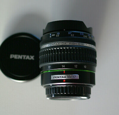 PENTAX Zoom SMC DA 10-17mm Fish-eye f/3,5-4,5 ED (IF)