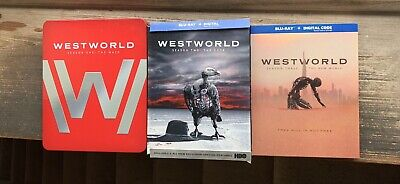 WestWorld Seasons 1-3 On Blu-ray