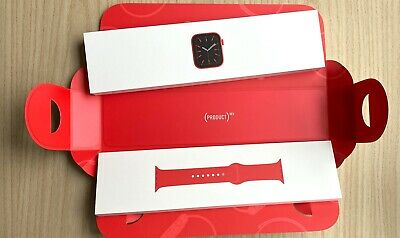 Apple Watch Series 6 40MM Product Red Cellular GPS Empty Box only