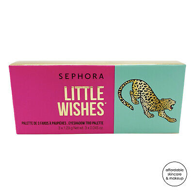 NEW Sephora Collection Little Wishes Trio Eyeshadow Palette 3 Shadows
