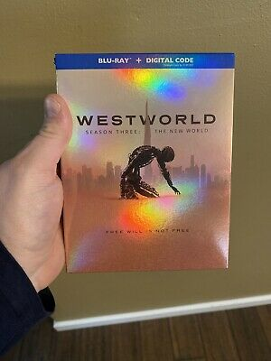 Westworld season 3 The New World BLU-RAY - SLIPCOVER LIKE NEW NO DIGITAL