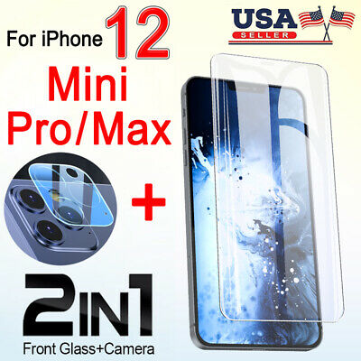 For iPhone 1212 Pro Max Tempered Glass Screen Protector-Camera Lens Protector