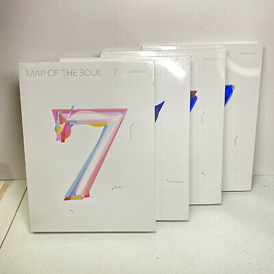 BTS MAP OF THE SOUL 7 Album CD Choose Your Version 01 02 03 04 NEW Complete