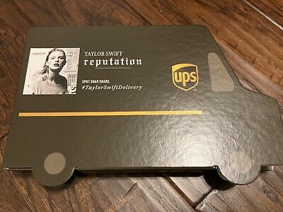Taylor Swift Reputation CD UPS Limited Edition Collector's Set - Brand New