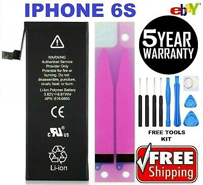 Battery For iPhone 6s internal replacement 1715mAh Free oem Tools - tape