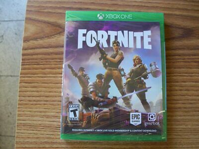 Fortnite Xbox One PHYSICAL DISC SEALED RARE FREE US SHIPPING