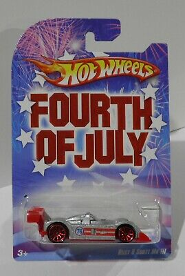 2008 Hot Wheels Fourth Of July Walmart Complete Set Of 8 Vehicles