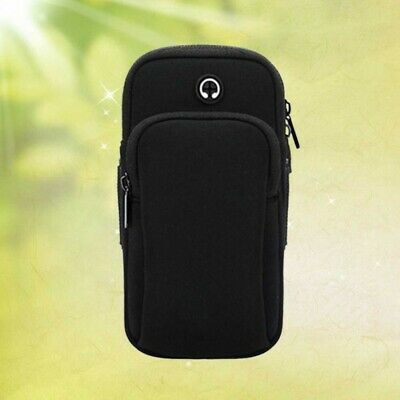 1Pc Sports Arm Bag Lightweight Wrist Pockets Armband Cards Holder for Exercise