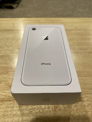 Original Apple iPhone 8  - EMPTY BOX ONLY - Silver - 64GB