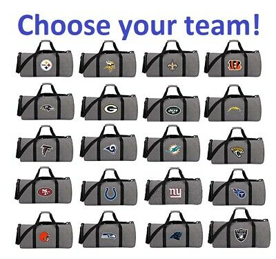 Officially Licensed NFL Wingman Duffel Bag Light-weight FoldingCollapsible