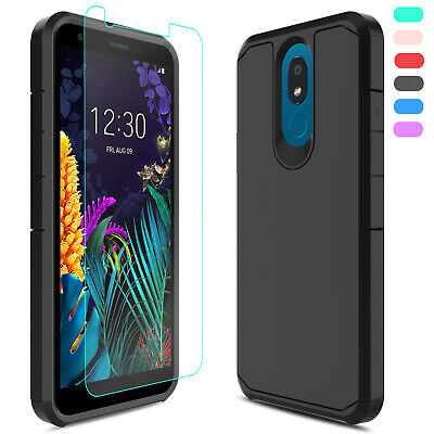 For LG Journey LTE L322DLLG Phoenix 5 Case Shockproof CoverScreen Protector