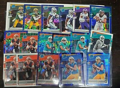 2020 Donruss Optic Football RATED ROOKIE Complete Your Set Or add to the PC READ