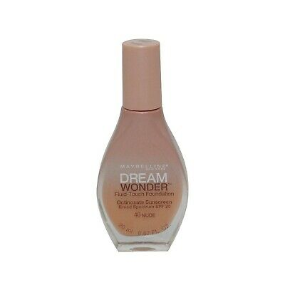 2 Pack- Maybelline Dream Wonder Fluid-Touch Foundation 40 Nude