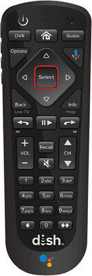 DISH 54-3 - Voice Remote for Hopper wGoogle Assistant - Replaces 54-0 - 54-1