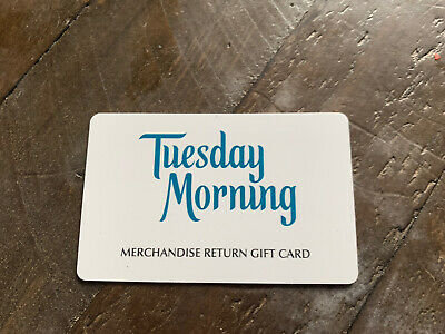 Tuesday Morning Gift Card 118-21