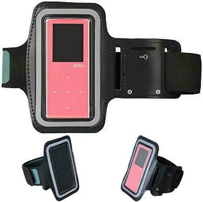HONGYU Running Arm Band Sport Jogging Leather Armband Case Cover for MP3 Player