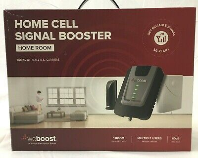 NEW weBoost Home Room Cell Phone Signal Booster Kit All U-S- Carriers- 472120