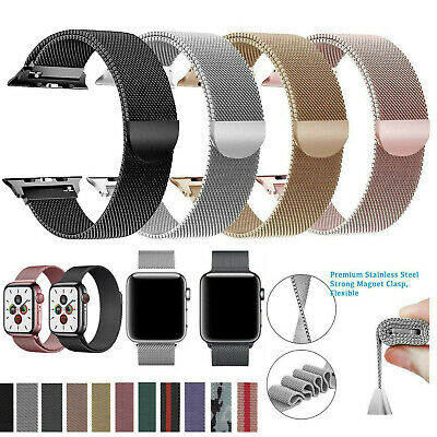 Magnetic Milanese Loop Band Strap For Apple Watch Series 6 5 4 3 2 38424044mm