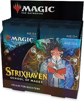 Magic The Gathering Strixhaven Collector Booster Box  12 Packs 180 Magic Cards