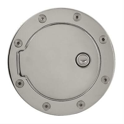 Bully CHROME PLATED FUEL DOOR GD-302CK for Dodge Truck with 4 Keys