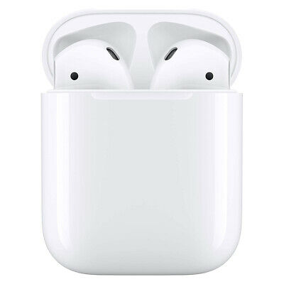 Apple Airpods 2nd Wireless Bluetooth Earphone Earbuds with Built-in Microphone -
