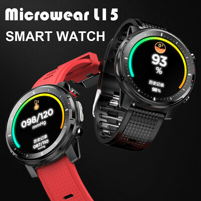 L15 Bluetooth Smart Watch Heart Rate Monitor Bracelet Wristband For Android IOS
