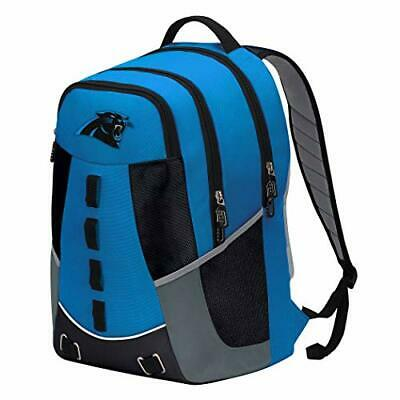NEW Officially Licensed NFL Carolina Panthers Personnel Backpack 19x5x13