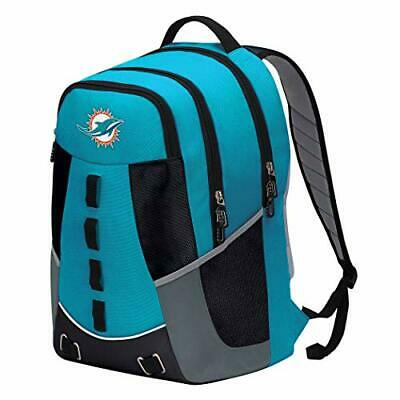 NEW Officially Licensed NFL Miami Dolphins Personnel Backpack 19x5x13