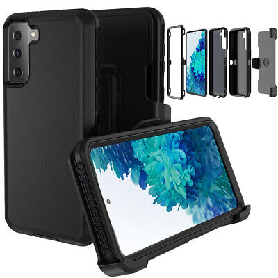 For Samsung Galaxy S21 S21- Ultra Case Shockproof Cover-Belt Clip Fits Otterbox
